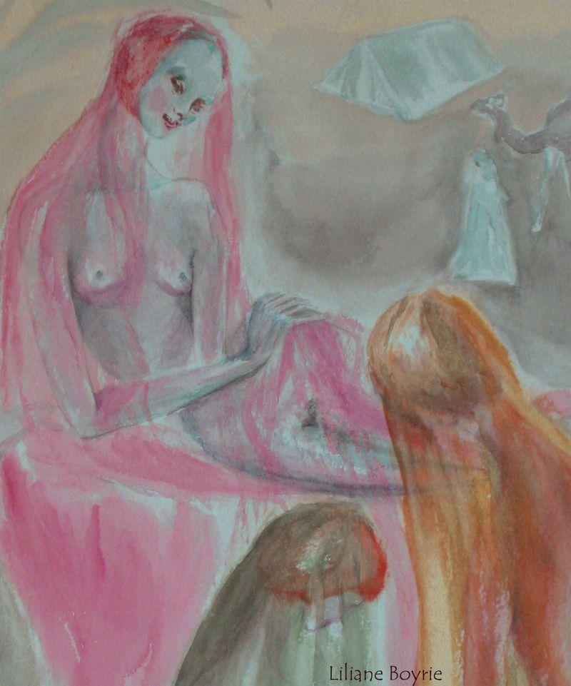 Jeunes femmes du harem copie