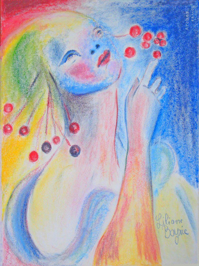 La dame aux cerises