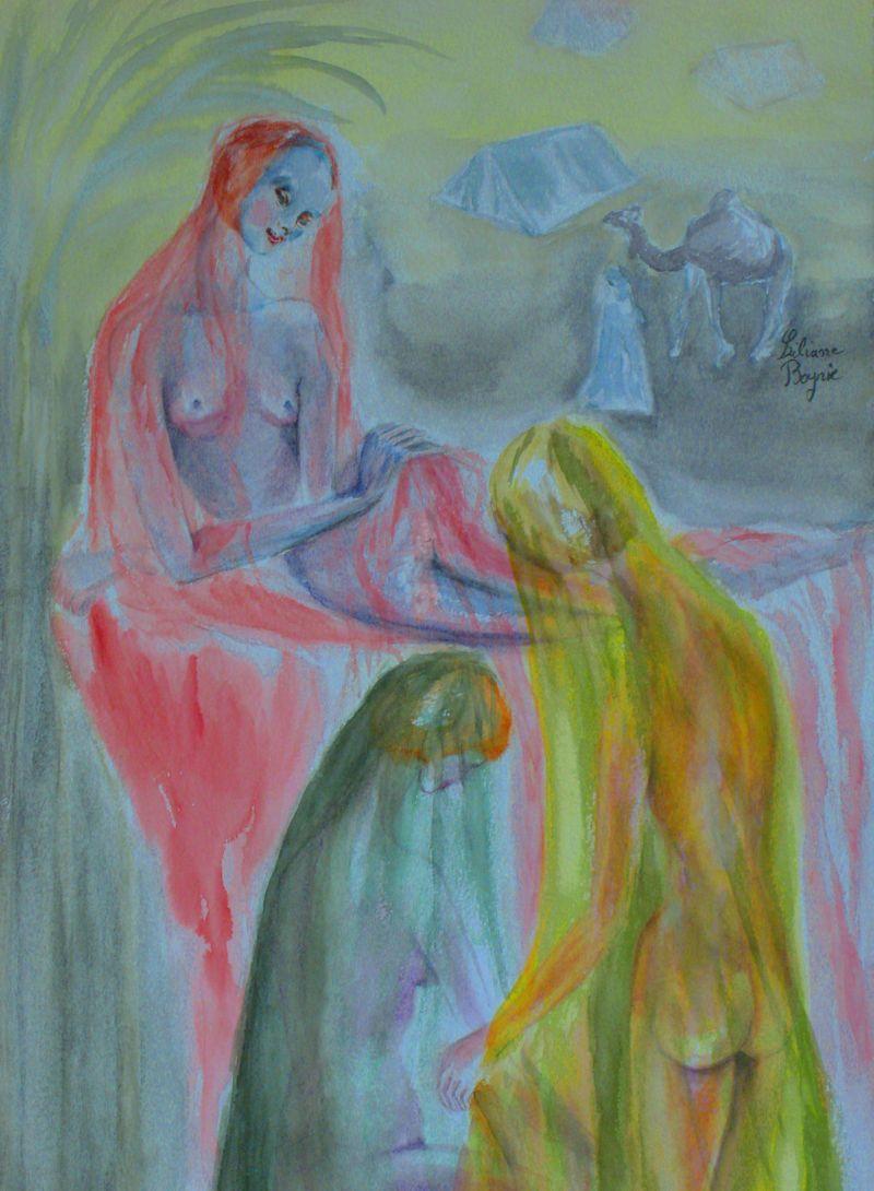 Dans le harem