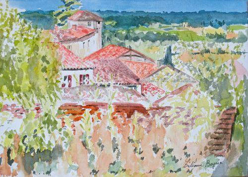 Village en Aquitaine