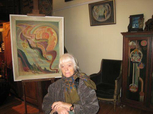 Liliane et tableau