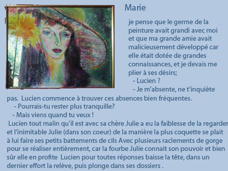Marie et texte