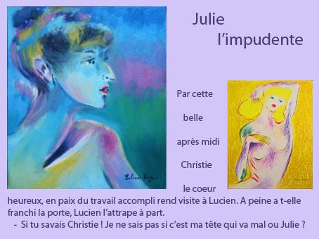 Julie l'impudente