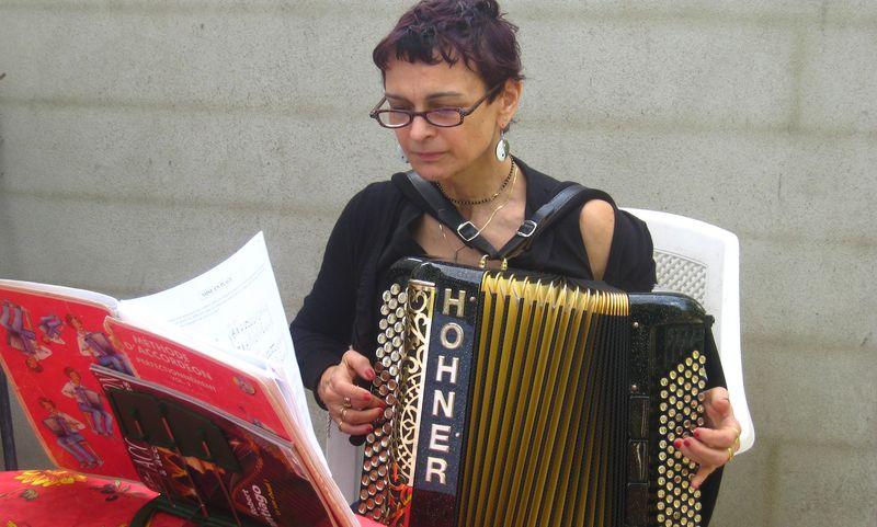 Laurence et l'accordéon