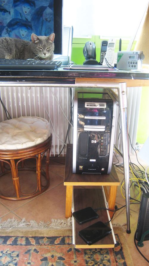 La tour de mon ordinateur