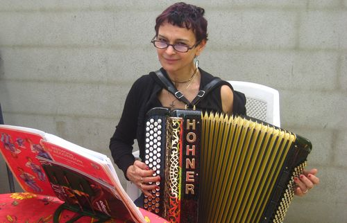 Laurence et l'accordéon2