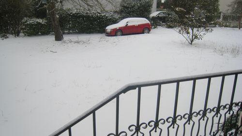 Neige à Pessac