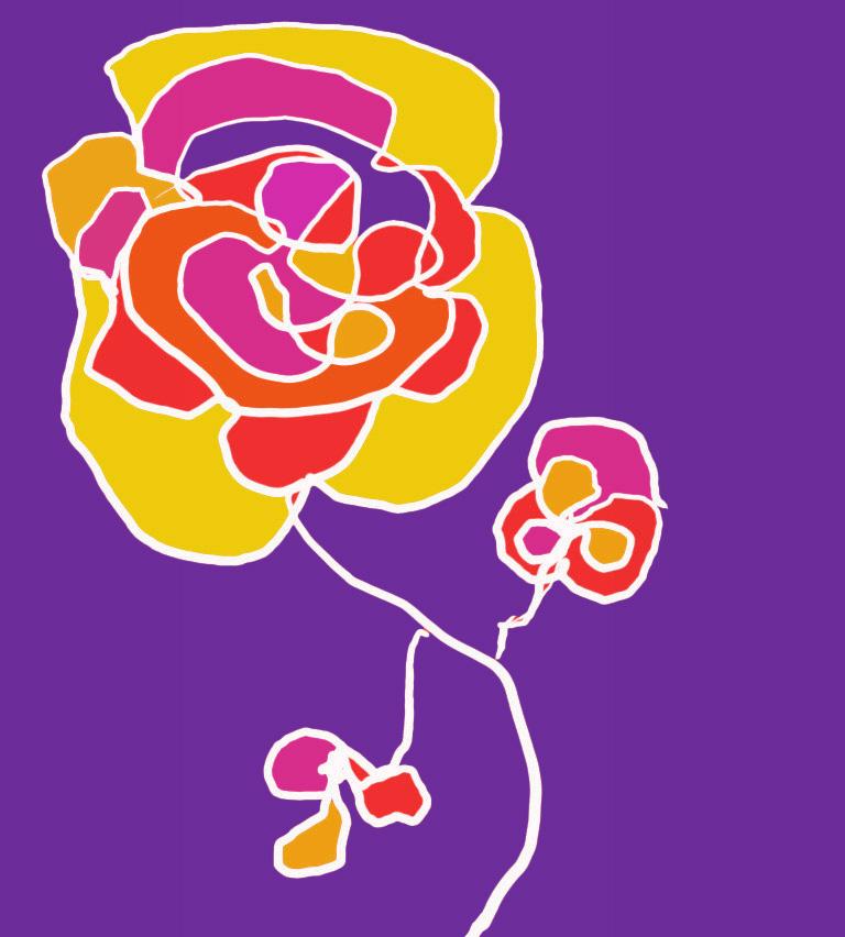 Fleur épanouie